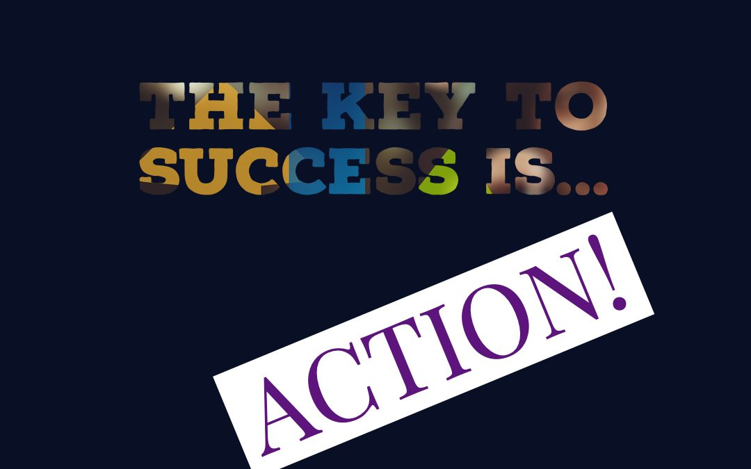 Action is key with affiliate marketing