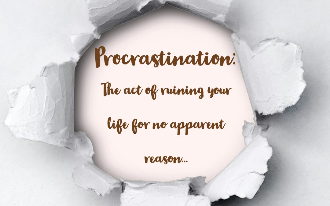 Create action, stop procrastination